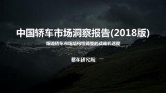 易车研究院发布《中国轿车市场洞察报告